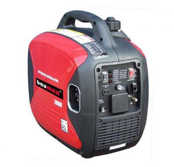 Baumax 2000i Inverter Generator powered by Yamaha