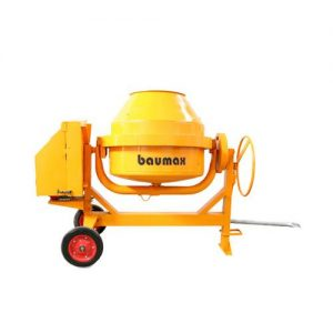 Baumax BS361 Concrete Mixer fitted with Electric 220v Motor