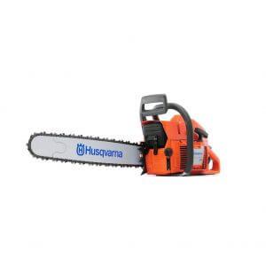 Husqvarna 61 Chainsaw with 15 Inch CutterBar