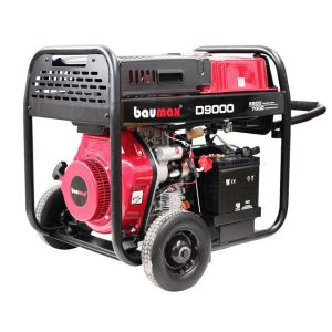 Baumax D9000 Diesel Generator Electric Start