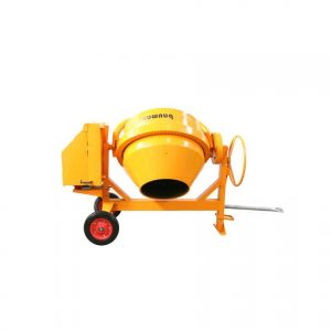 Baumax BS500 500L Concrete Mixer fitted with Baumax RX200 2:1 Engine