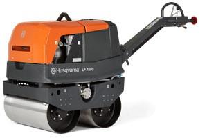 Construction Equipment - Husqvarna LP7505 Vibratory roller
